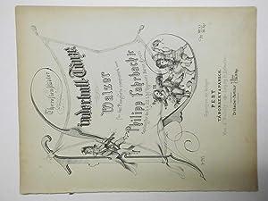 Thersiensrädter Kinderball-Tänze. Walzer für das Pianoforte Op.: Fahrbach, Philipp jr.