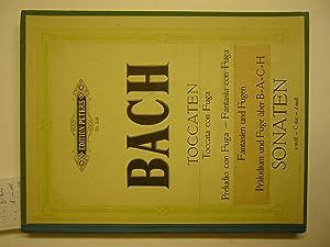 Toccaten , Toccata Con Fuga, Preludio Con: Bach, J.S.