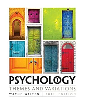 Psychology: Themes and Variations: Weiten, Wayne;