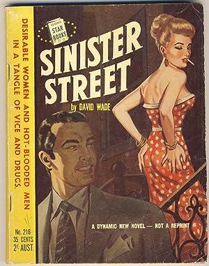 SINISTER STREET [ Star Books No. 216: Wade, David