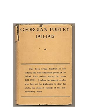 Georgian Poetry 1911-1912