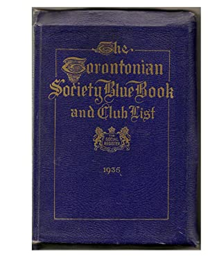 The Torontonian Society Blue Book and Club List: COVINGTON: William J. Editor