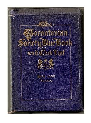 The Torontonian Society Blue Book: COVINGTON: William Editor