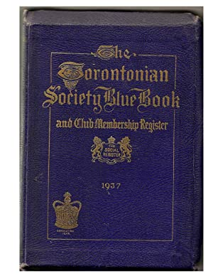 The Torontonian Society Blue Book: COVINGTON: William Editor
