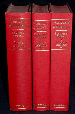 Winston S. Churchill, Vol. 1: Youth, 1874-1900. / Companion Vol. 1 Part I 1874 - 1896. / Companio...