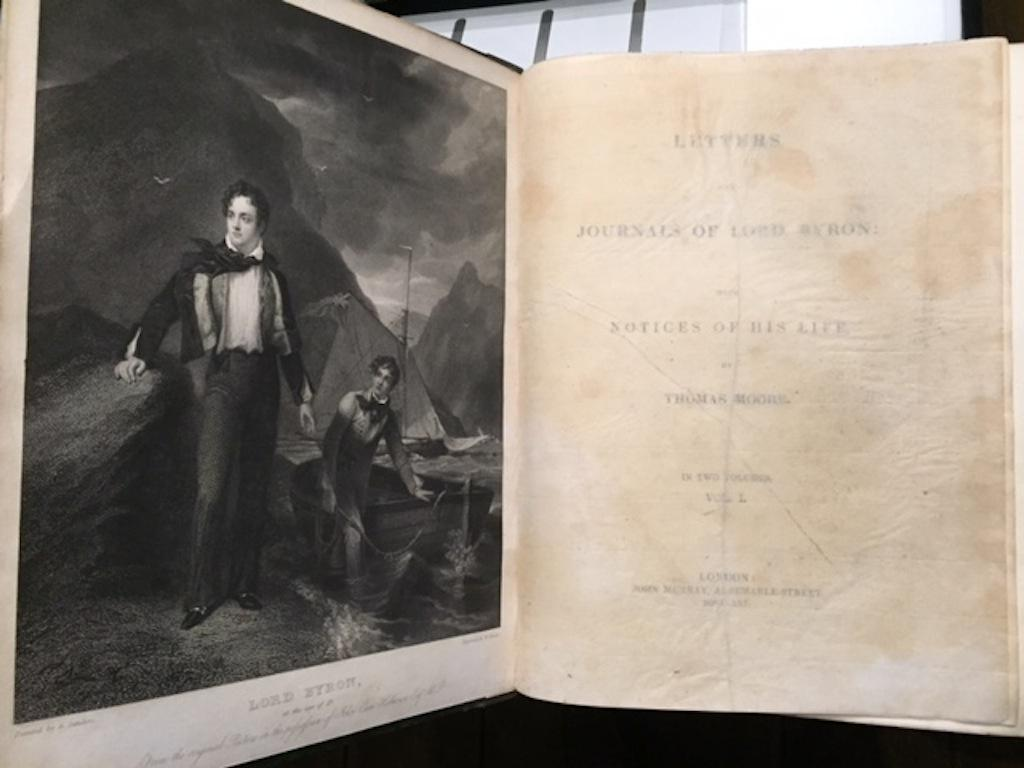 Letters and Journals of Lord Byron with: Moore, Thomas
