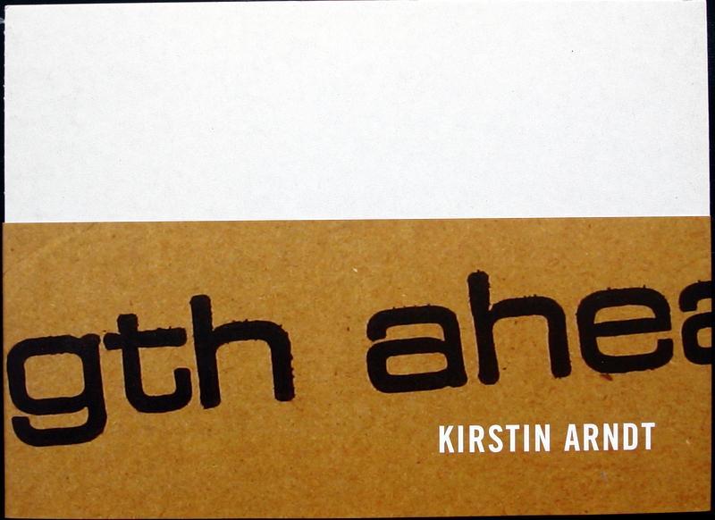 Studio A Otterndorf 21.Januar bis 4.März 2007. Museum Gegenstandsfreier Kunst, herausg. Landkreis Cuxhaven. - ARNDT, Kirstin