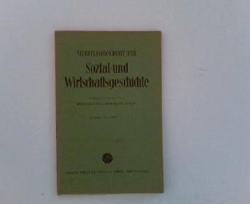 Vierteljahrschrift für Sozial- und Wirtschaftsgeschichte.- 42. Bd.,: Aubin (Hrsg.), Hermann: