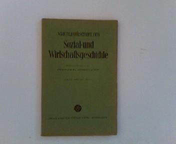 Vierteljahrschrift für Sozial- und Wirtschaftsgeschichte.- 44. Bd.,: Aubin (Hrsg.), Hermann: