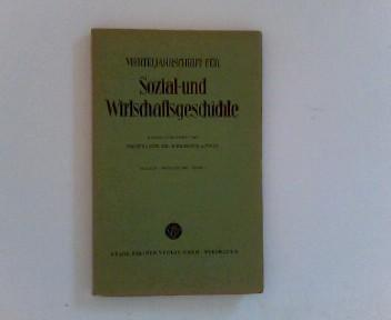 Vierteljahrschrift für Sozial- und Wirtschaftsgeschichte.- 50. Bd.,: Aubin (Hrsg.), Hermann: