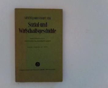 Vierteljahrschrift für Sozial- und Wirtschaftsgeschichte.- 45. Bd.,: Aubin (Hrsg.), Hermann: