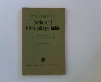 Vierteljahresschrift für Sozial- und Wirtschaftsgeschichte. 49. Bd.,: Geschichte - Aubin,