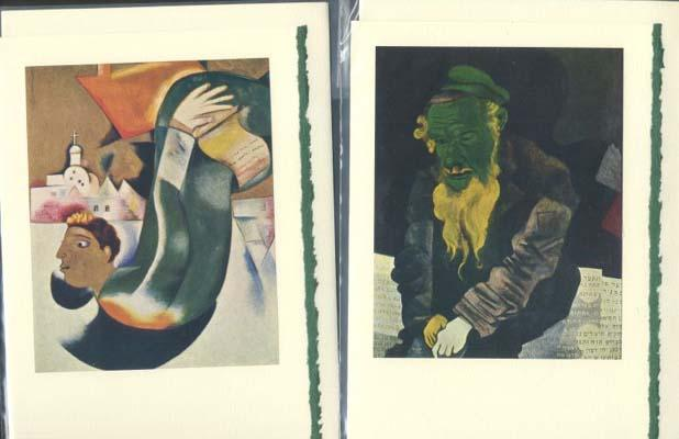 Tipped-in Plates from Chagall made into 2: Chagall, Marc.