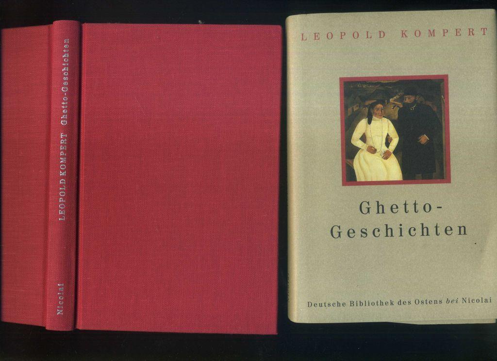 Ghetto - Geschichten. Herausgegeben von Burkhard Bittrich.: Kompert, Leopold: