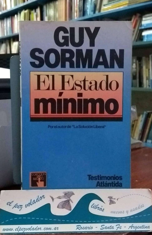 El Estado Mínimo - Sorman Guy