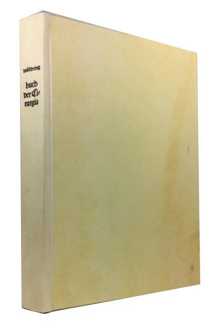 Das ist das Buch der Cirurgia Handwirckung: Brunschwig, Hieronymus