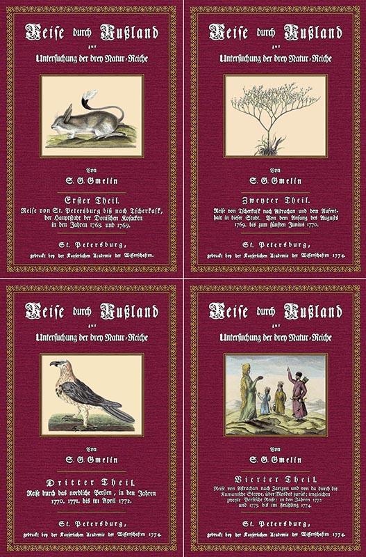 Reise durch Rußland 1 bis 4: Gmelin, Samuel Gottlieb