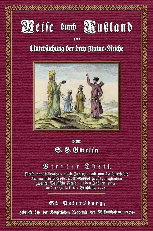 Reise durch Rußland - 4: Gmelin, Samuel Gottlieb