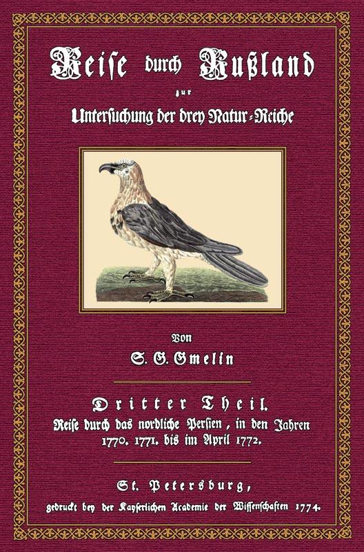 Reise durch Rußland - 3: Gmelin, Samuel Gottlieb