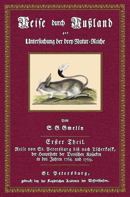 Reise durch Rußland - 1: Gmelin, Samuel Gottlieb