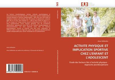 Activité Physique Et Implication Sportive Chez l'Enfant Et l'Adolescent - Deflandre-A
