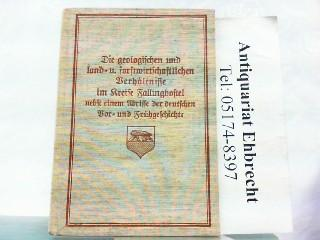 Die geologischen und die land- und forstwirtschaftlichen: Wolff, Oskar: