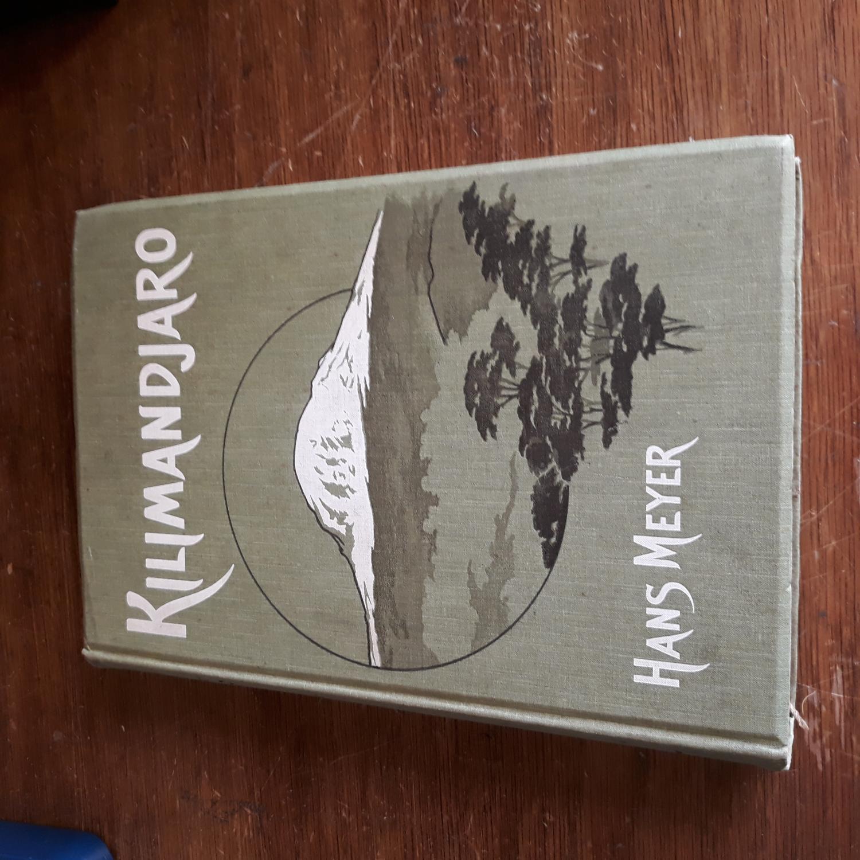 Kilimandjaro, Resien und Studien. Mit 4 tafeln: Hans Meyer