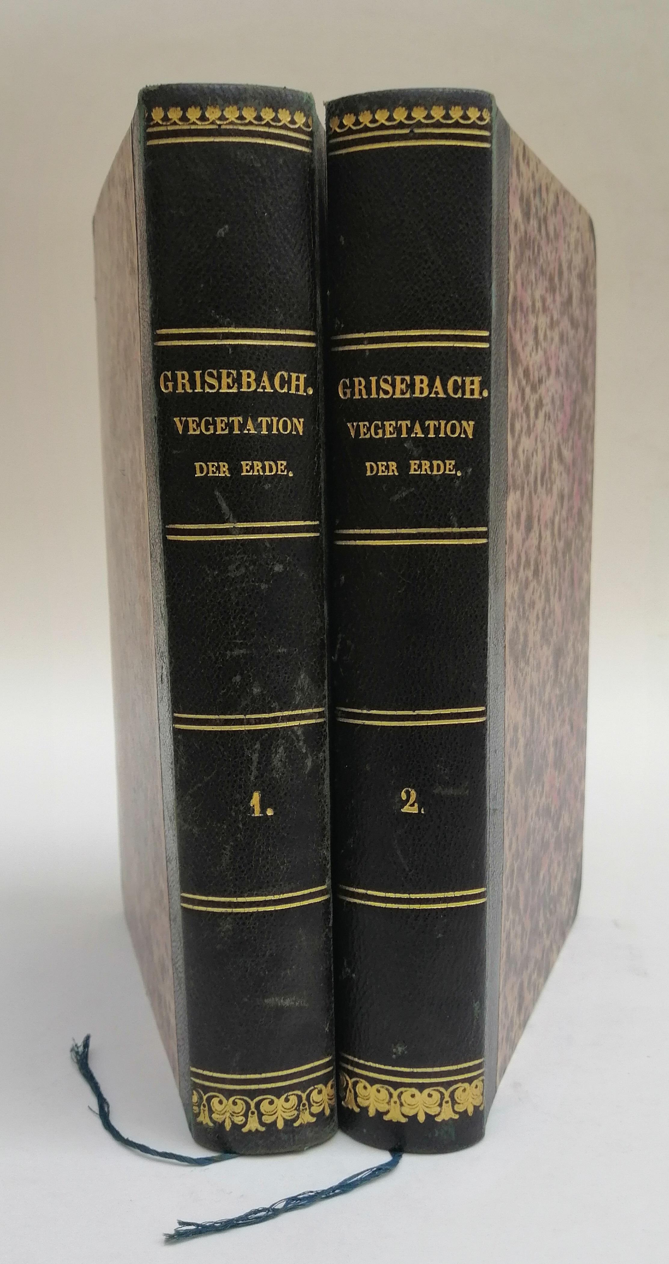 Die Vegetation der Erde nach ihrer klimatischen: Grisebach, A.