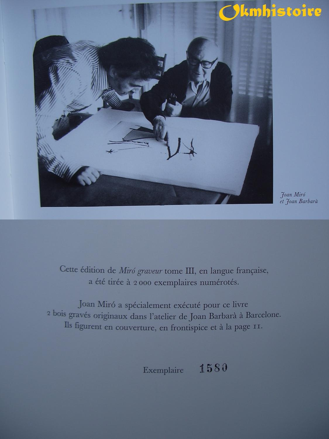 Joan Miro Seller Supplied Images Abebooks