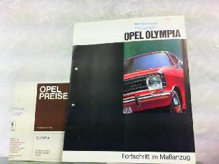 Opel Olympia. Fortschritt im Maßanzug.: Opel, Werbe-Prospekt: