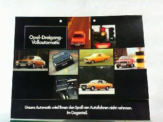 Opel Dreigang Vollautomatic.: Opel, Werbe-Prospekt: