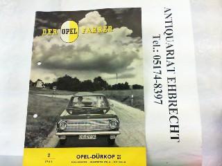 Der Opel Fahrer. Hier Nr. 2 /: Opel, Werbe-Prospekt: