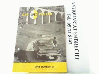 Der Opel Fahrer. Hier Nr. 6 /: Opel, Werbe-Prospekt: