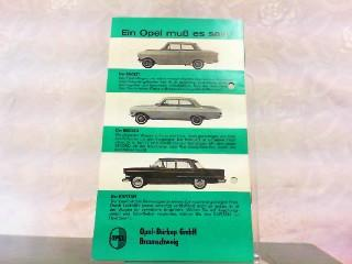 Der neue Rekord, der Wagen zeitgemäßen Lebensstils.: Opel, Werbe-Prospekt: