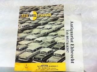 Der Opel Fahrer. Hier Nr. 3 /: Opel, Werbe-Prospekt: