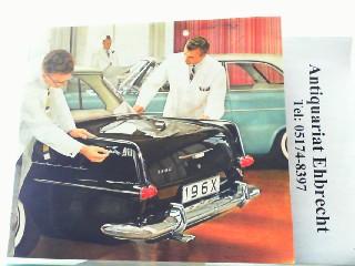 Der neue Rekord - Zeitbewusst und klassisch: Opel, Werbe-Prospekt: