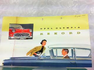 Opel Olympia Rekord - Der fortschrittliche unter: Opel, Werbe-Prospekt: