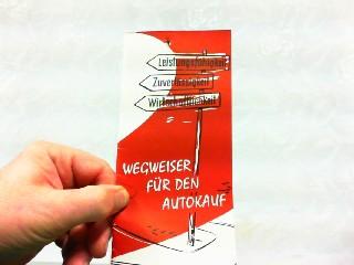 Wegweiser für den Autokauf - Leistungsfähigkeit, Zuverlässigkeit,: Lloyd, Werbe-Prospekt: