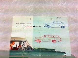 Frischer Wind im Autobau - Die neuen: Opel, Werbe-Prospekt: