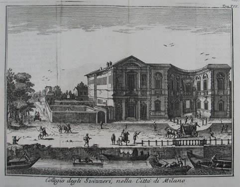 Collegio degli Svizzeri, nella Citta di Milano.: Mailand (Milano)