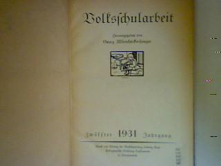 Volksschularbeit: Albrechtskirchinger, Georg: