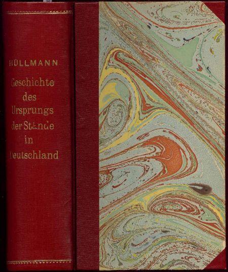 Geschichte des Ursprungs der Stände in Deutschland.: Hüllmann, Karl Dietrich