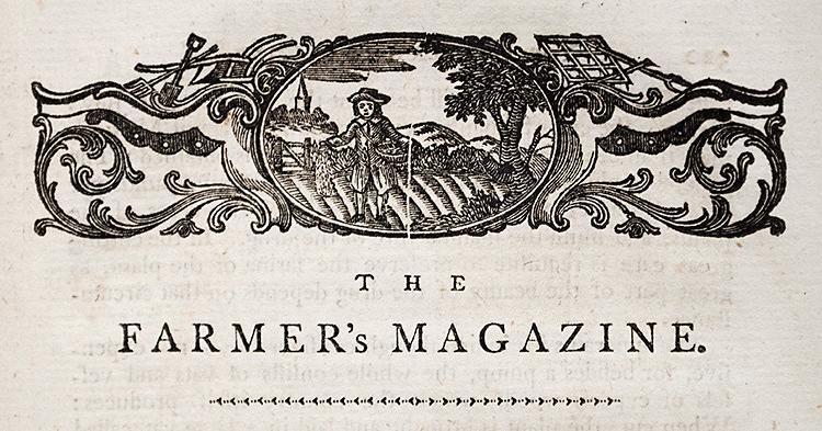 The Farmer's Magazine, and Useful Family Companion: SYLVAN (Agricola) -
