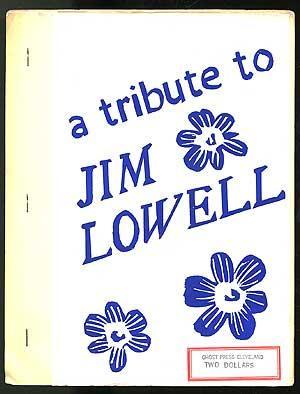 A Tribute to Jim Lowell: BUKOWSKI, Charles, Jonathan