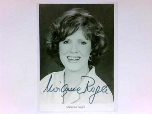 Signierte Autogrammkarte: Rogée, Marianne