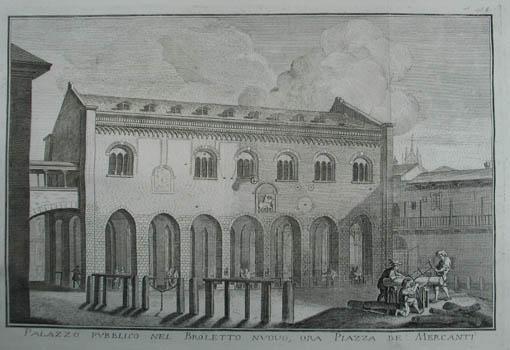 Palazzo pubblico nel Broletto nuovo, ora Piazza: Mailand (Milano)