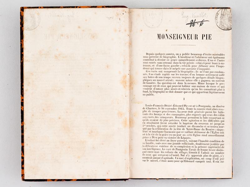 Le Père Lacordaire. Etude historique et biographique (Éd.1865) -