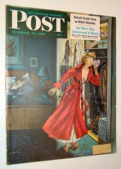 The Saturday Evening Post Magazine, December 10,: Byrd, Sigman; Crowe,