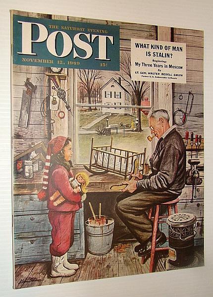 The Saturday Evening Post Magazine, November 12,: Montanye, Harold; McNeil,