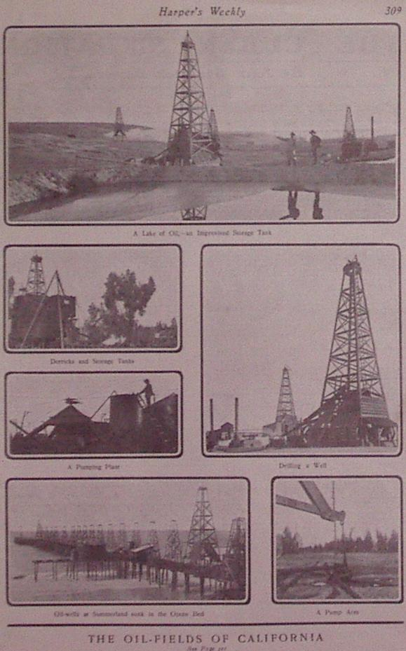 The Oil-Fields of California: HARPER'S WEEKLY